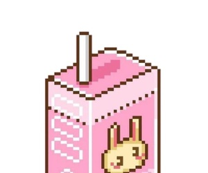 pixel and pink image