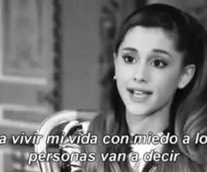 ariana grande and frases image