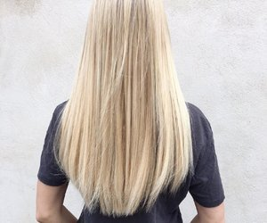 beauty, blonde, and extensions image