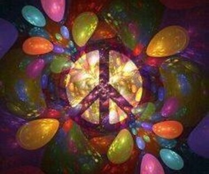 hippie, peace, and wallpaper image
