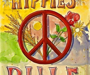 hippie, hippies, and quotes image