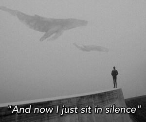 silence, twenty one pilots, and alone image