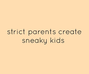 kids, parents, and sneaky image