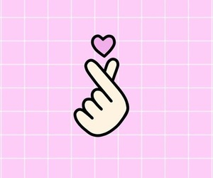 heart, wallpaper, and pink image