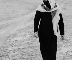 arab, arabic, and man image