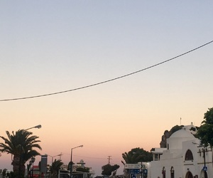 sunset, grecce, and patmos image