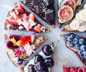 fruit, food, and cake image
