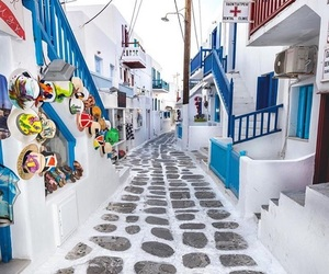Greece, mykonos, and summer image