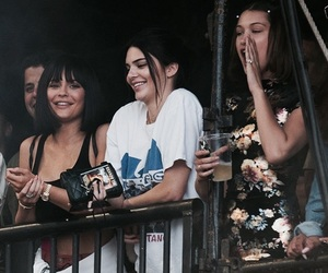 kendall jenner, kylie jenner, and bella hadid image