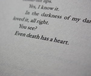 books, death, and the book thief image