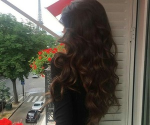 hair, style, and paris image