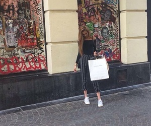 outfit, shopping, and sweetness image
