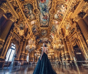 beautiful, black, and castle image