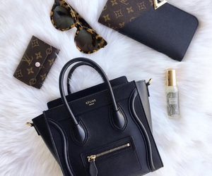 bag, sunglasses, and wallet image