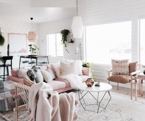 home, living room, and cute image