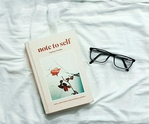 aesthetic, books, and note to self image