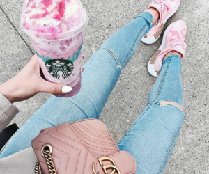 fashion, ice-cream, and starbucks image