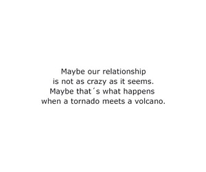 quote, tornado, and volcano image