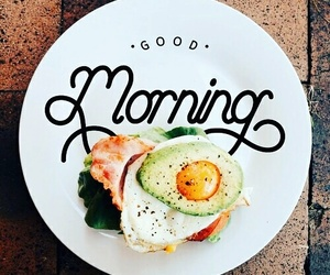 food, breakfast, and good morning image