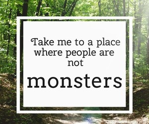 monsters, place, and take me image