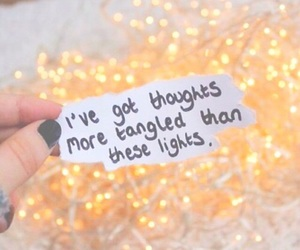 girl, lights, and nails image