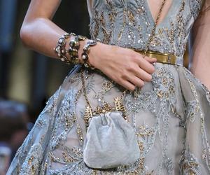 elie saab, fashion, and embellishment image