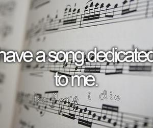 song, music, and before i die image