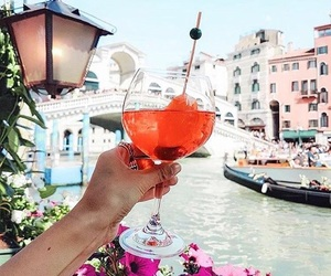drink, italy, and summer image
