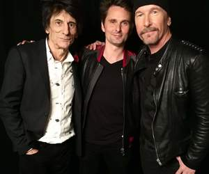 Matt Bellamy, the edge, and the rolling stones image