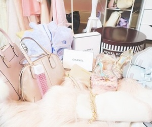 chanel, goals, and pink image
