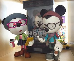 disney, hipster, and collectable image