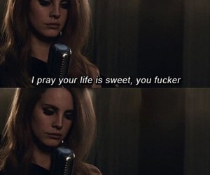 lana del rey, quotes, and damn you image