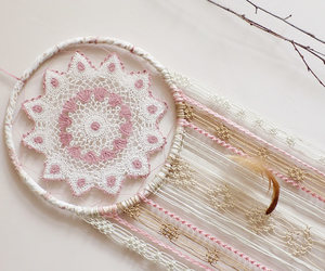 bedroom, dream catcher, and room ideas image