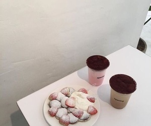 cafe, chocolate, and dessert image