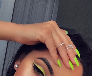 beauty, eyebrow, and nails image