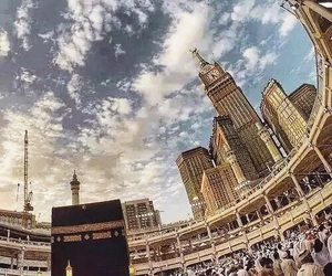 islam, makkah, and muslim image