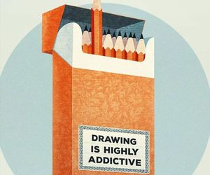 drawing, art, and addictive image