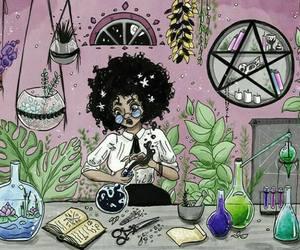 black, bruxa, and magic image