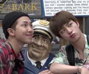 bts, namjin, and jin image