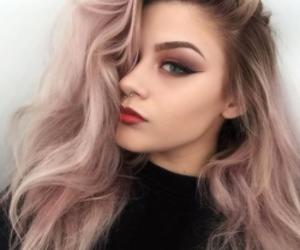 beautiful girl, beauty, and makeup image