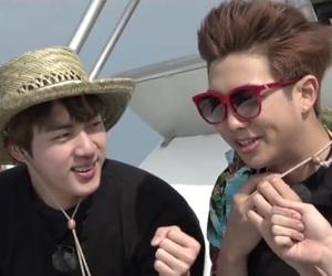 kim namjoon, kim seokjin, and namjin image