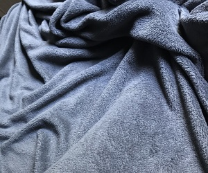 bed, blanket, and comfortable image