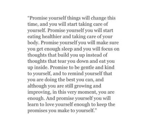 quotes, promise, and tumblr image