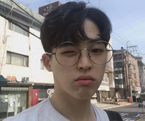 boy, glasses, and icon image