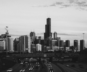 black and white, city, and inspiration image