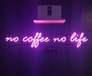 purple, coffee, and light image