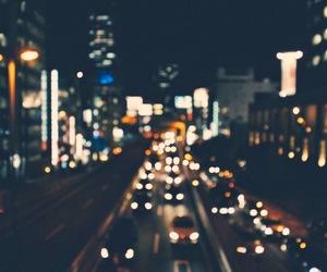 cities, light, and night image