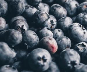 blueberries, fruit, and snack image
