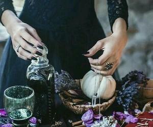 witch, magic, and dark image