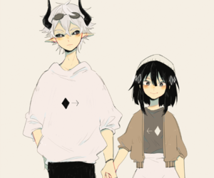 couple, rpg maker, and the gray garden image